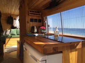 8 m2'ye bir ev 3 yaşam sığdırdık. İşte tam zamanlı yaşadığımız, kendi yaptığımız karavanımız
